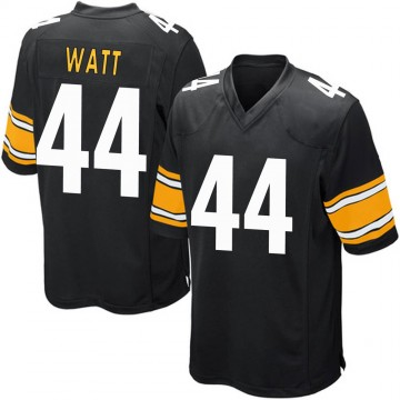 Youth Nike Pittsburgh Steelers Derek Watt Black Team Color Jersey - Game