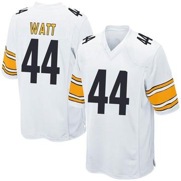 Youth Nike Pittsburgh Steelers Derek Watt White Jersey - Game