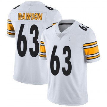 Youth Nike Pittsburgh Steelers Dermontti Dawson White Vapor Untouchable Jersey - Limited