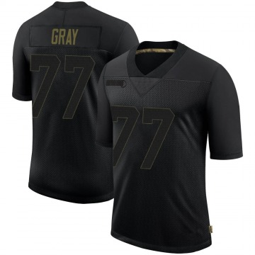 Youth Pittsburgh Steelers Derwin Gray Black 2020 Salute To Service Jersey - Limited