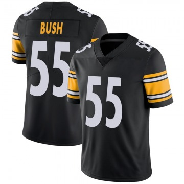 Youth Nike Pittsburgh Steelers Devin Bush Black 100th Vapor Jersey - Limited