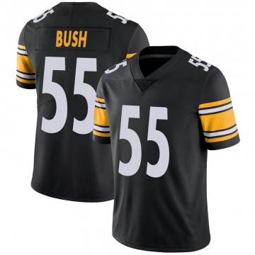 Youth Nike Pittsburgh Steelers Devin Bush Black Team Color Vapor Untouchable Jersey - Limited
