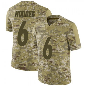 Youth Nike Pittsburgh Steelers Devlin Hodges Camo 2018 Salute to Service Jersey - Limited