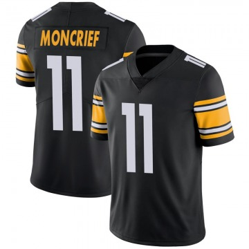 Youth Nike Pittsburgh Steelers Donte Moncrief Black 100th Vapor Jersey - Limited