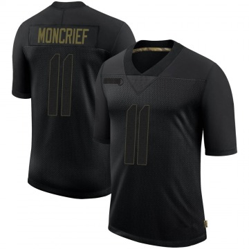 Youth Nike Pittsburgh Steelers Donte Moncrief Black 2020 Salute To Service Jersey - Limited
