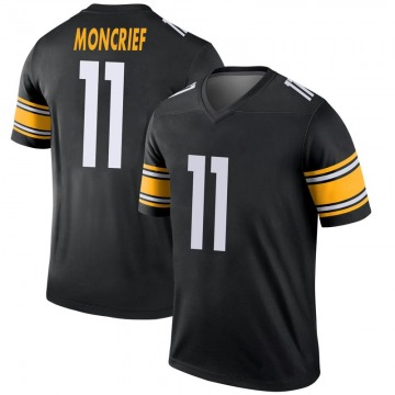 Youth Nike Pittsburgh Steelers Donte Moncrief Black Jersey - Legend