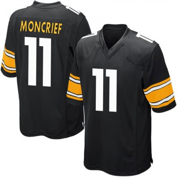 Youth Nike Pittsburgh Steelers Donte Moncrief Black Team Color Jersey - Game