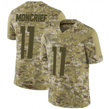 Youth Nike Pittsburgh Steelers Donte Moncrief Camo 2018 Salute to Service Jersey - Limited