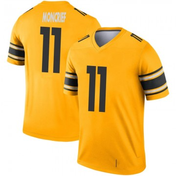 Youth Nike Pittsburgh Steelers Donte Moncrief Gold Inverted Jersey - Legend