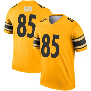 Youth Nike Pittsburgh Steelers Eric Ebron Gold Inverted Jersey - Legend