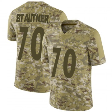 Youth Nike Pittsburgh Steelers Ernie Stautner Camo 2018 Salute to Service Jersey - Limited