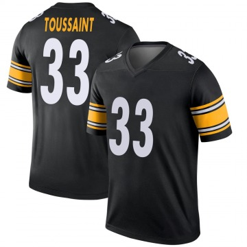 Youth Nike Pittsburgh Steelers Fitzgerald Toussaint Black Jersey - Legend