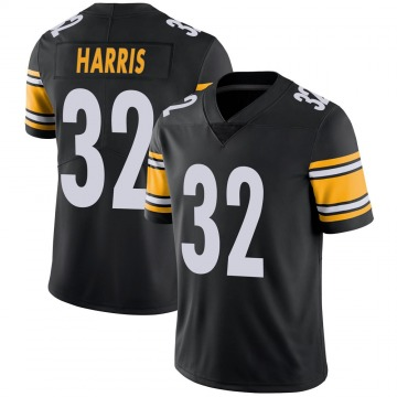 Youth Nike Pittsburgh Steelers Franco Harris Black 100th Vapor Jersey - Limited