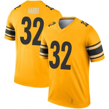 Youth Nike Pittsburgh Steelers Franco Harris Gold Inverted Jersey - Legend