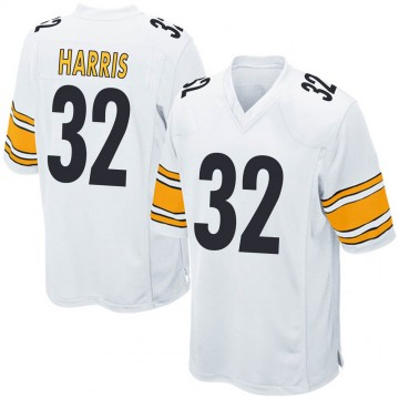 Youth Nike Pittsburgh Steelers Franco Harris White Jersey - Game