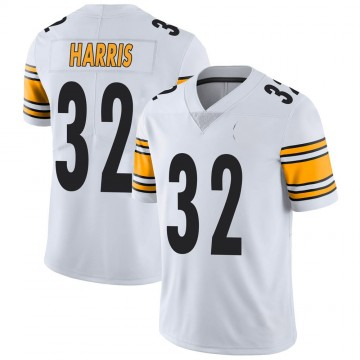 Youth Nike Pittsburgh Steelers Franco Harris White Vapor Untouchable Jersey - Limited