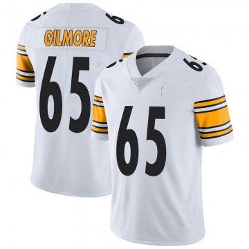 Youth Nike Pittsburgh Steelers Greg Gilmore White Vapor Untouchable Jersey - Limited
