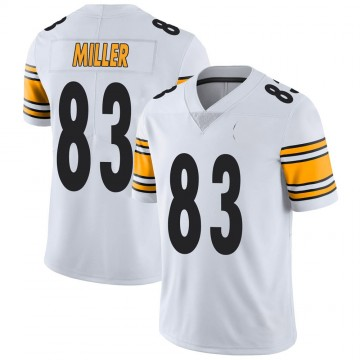 Youth Nike Pittsburgh Steelers Heath Miller White Vapor Untouchable Jersey - Limited