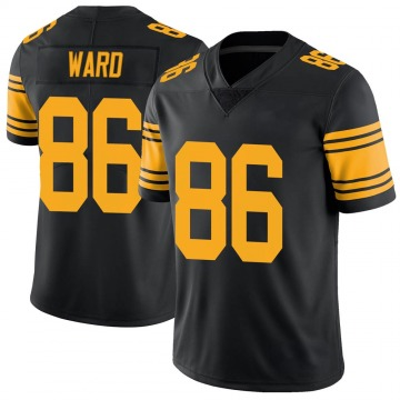 Youth Nike Pittsburgh Steelers Hines Ward Black Color Rush Jersey - Limited