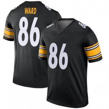 Youth Nike Pittsburgh Steelers Hines Ward Black Jersey - Legend