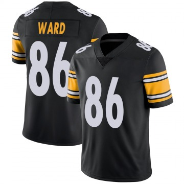 Youth Nike Pittsburgh Steelers Hines Ward Black Team Color Vapor Untouchable Jersey - Limited