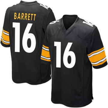 Youth Nike Pittsburgh Steelers J.T. Barrett Black Team Color Jersey - Game