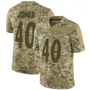 Youth Nike Pittsburgh Steelers J.T. Jones Camo 2018 Salute to Service Jersey - Limited