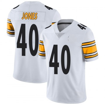 Youth Nike Pittsburgh Steelers J.T. Jones White Vapor Untouchable Jersey - Limited