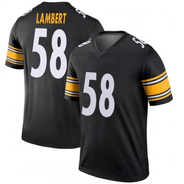 Youth Nike Pittsburgh Steelers Jack Lambert Black Jersey - Legend