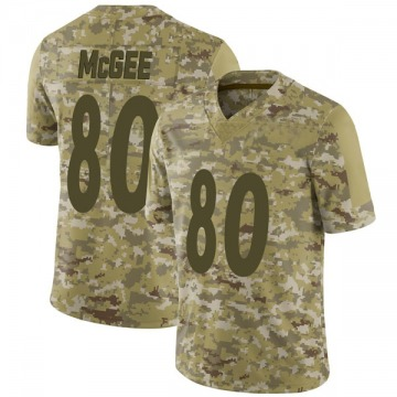 Youth Nike Pittsburgh Steelers Jake McGee Camo 2018 Salute to Service Jersey - Limited