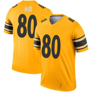Youth Nike Pittsburgh Steelers Jake McGee Gold Inverted Jersey - Legend