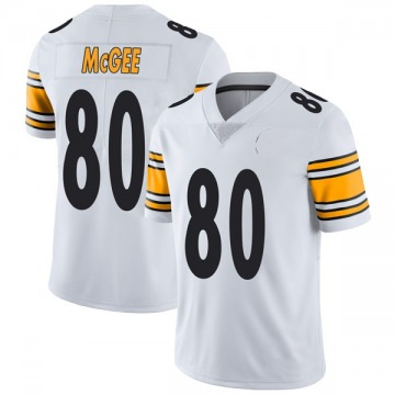 Youth Nike Pittsburgh Steelers Jake McGee White Vapor Untouchable Jersey - Limited