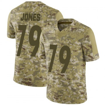 Youth Nike Pittsburgh Steelers Jarron Jones Camo 2018 Salute to Service Jersey - Limited