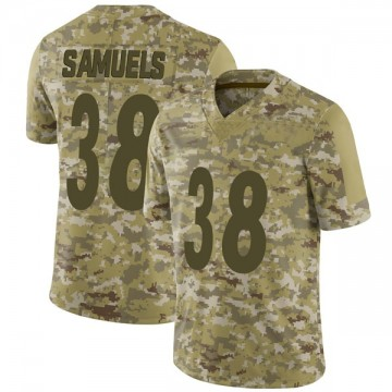 Youth Nike Pittsburgh Steelers Jaylen Samuels Camo 2018 Salute to Service Jersey - Limited