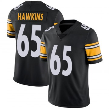 Youth Nike Pittsburgh Steelers Jerald Hawkins Black 100th Vapor Jersey - Limited