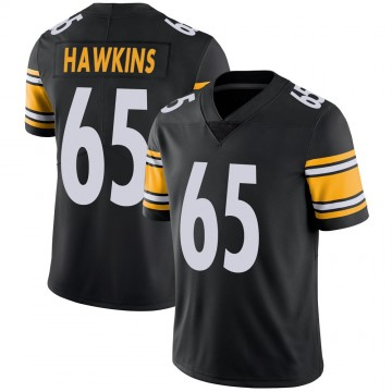 Youth Nike Pittsburgh Steelers Jerald Hawkins Black Team Color Vapor Untouchable Jersey - Limited