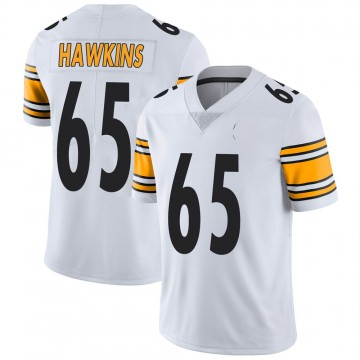Youth Nike Pittsburgh Steelers Jerald Hawkins White Vapor Untouchable Jersey - Limited