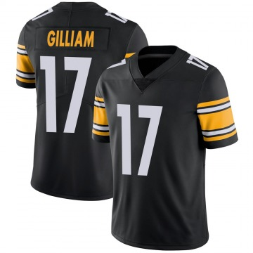 Youth Nike Pittsburgh Steelers Joe Gilliam Black 100th Vapor Jersey - Limited