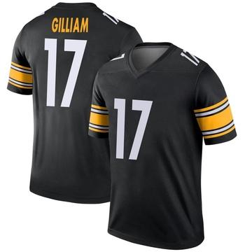 Youth Nike Pittsburgh Steelers Joe Gilliam Black Jersey - Legend