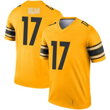 Youth Nike Pittsburgh Steelers Joe Gilliam Gold Inverted Jersey - Legend