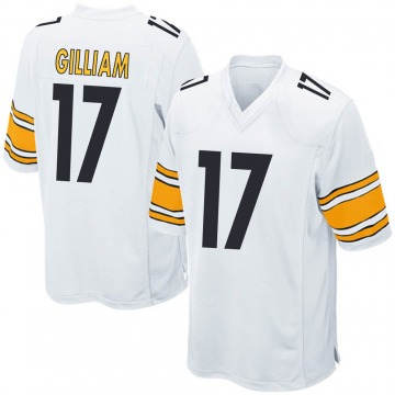 Youth Nike Pittsburgh Steelers Joe Gilliam White Jersey - Game