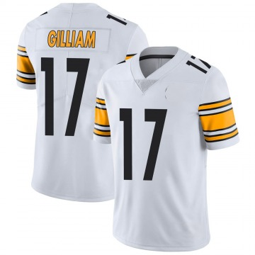 Youth Nike Pittsburgh Steelers Joe Gilliam White Vapor Untouchable Jersey - Limited