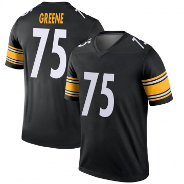 Youth Nike Pittsburgh Steelers Joe Greene Green Black Jersey - Legend