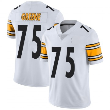 Youth Nike Pittsburgh Steelers Joe Greene White Vapor Untouchable Jersey - Limited