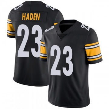 Youth Nike Pittsburgh Steelers Joe Haden Black Team Color Vapor Untouchable Jersey - Limited