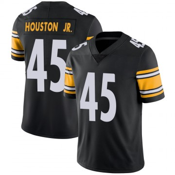 Youth Nike Pittsburgh Steelers John Houston Jr. Black Team Color Vapor Untouchable Jersey - Limited