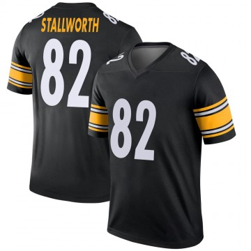 Youth Nike Pittsburgh Steelers John Stallworth Black Jersey - Legend