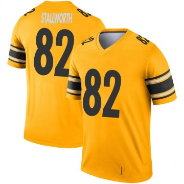 Youth Nike Pittsburgh Steelers John Stallworth Gold Inverted Jersey - Legend