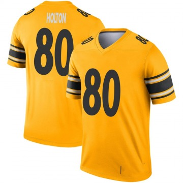 Youth Nike Pittsburgh Steelers Johnny Holton Gold Inverted Jersey - Legend