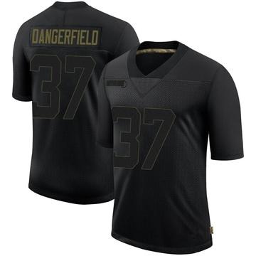 Youth Nike Pittsburgh Steelers Jordan Dangerfield Black 2020 Salute To Service Jersey - Limited